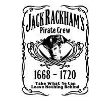 Jack Rackhams Pirate Crew Photographic Print