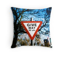 Giveway Throw Pillow