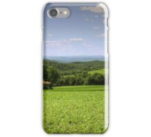 Summer Green Errupts at the Forgotten Farmhouse iPhone Case/Skin