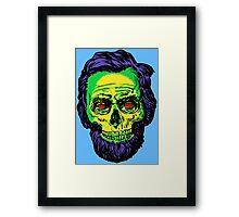 Abraham Skelincoln Framed Print