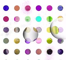 100 DOTS WITH DAMIEN HIRST(C2015) by Paul Romanowski