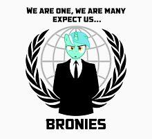 Expect us... Bronies Unisex T-Shirt