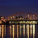 Deventer Bridge by marcovw