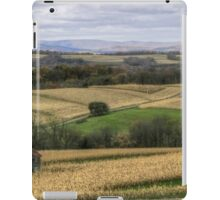 Forgotten Farmhouse In Late Fall (Full View) iPad Case/Skin