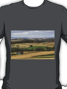Forgotten Farmhouse In Late Fall (Full View) T-Shirt