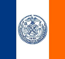 Flag of New York City  by abbeyz71