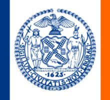 Flag of New York City  Sticker