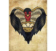 Mama Bird Tattoo Design Photographic Print