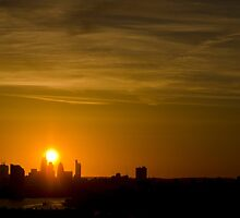 London Sunset by WorldScapes