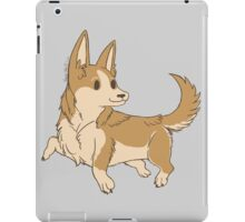 Playful Brown Corgi iPad Case/Skin
