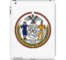 Seal of New York City  iPad Case/Skin