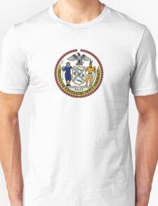 Seal of New York City  Unisex T-Shirt