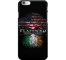 Flannery - American Grown with Irish Roots iPhone Case/Skin