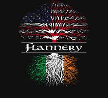 Flannery - Irish-American Tree Unisex T-Shirt
