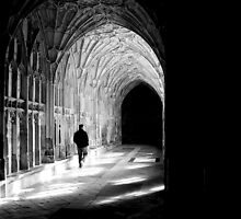 Walk the cloisters by Mark Mitrofaniuk
