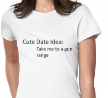 Date Womens Fitted T-Shirt