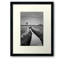 Dutch Landscape Framed Print