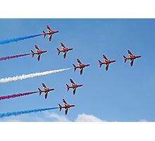 Concorde - The Red Arrows - Dunsfold 2013 Photographic Print