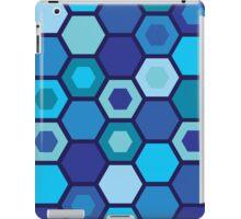 Blue Matrix iPad Case/Skin