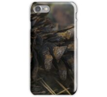 Pine Cone - Close up photo print / nature photography iPhone Case/Skin