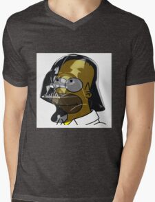 Darth Homer Mens V-Neck T-Shirt