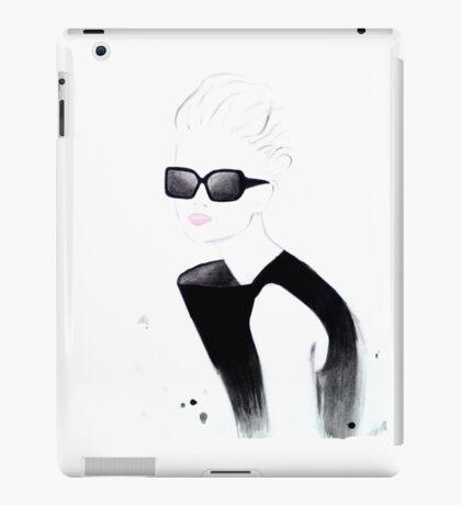 Retro Black iPad Case/Skin