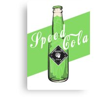 Speed Cola - Poster Canvas Print