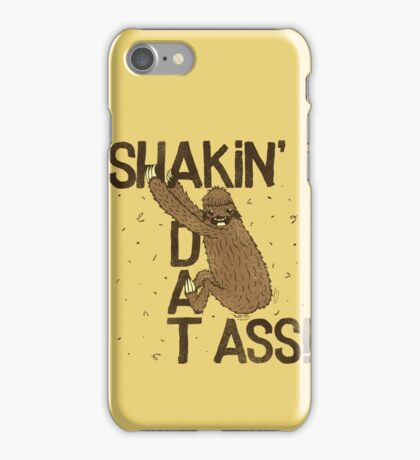 PARTY SLOTH CAME TO DANCE!! iPhone Case/Skin
