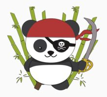 Pirate Panda Kids Clothes