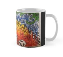 Hell on Earth Outsider Pop Surrealism  Mug