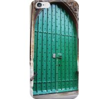 The Green Door iPhone Case/Skin