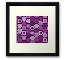 Pink Matrix Framed Print
