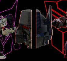 Prime vs Megatron by Jimmy O'Brien