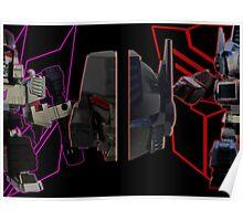 Prime vs Megatron Poster