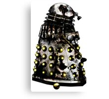 Destroyed Necros Dalek Canvas Print