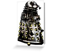 Destroyed Necros Dalek Greeting Card