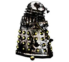 Destroyed Necros Dalek Photographic Print