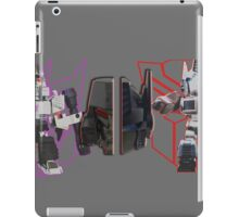Prime vs Megatron iPad Case/Skin