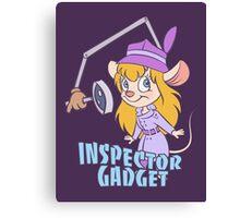 Inspector Gadget Canvas Print
