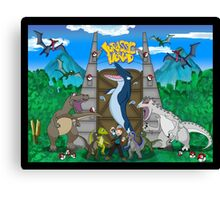 Gotta Catch Em All Canvas Print
