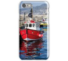 Lyme Regis Harbour 6 - April iPhone Case/Skin