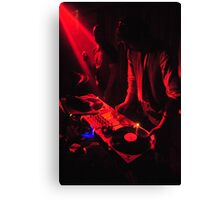 Red DJ's Canvas Print