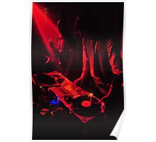 Red DJ's Poster