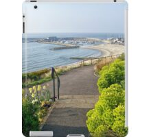 Harbour Overview From The Gardens iPad Case/Skin