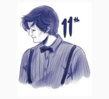 Eleventh Doctor Sketch by ScissorCrazy