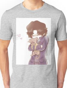 Sherlock and John Cat Unisex T-Shirt