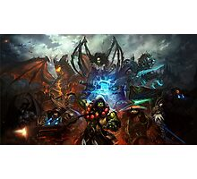 Heroes Of the Storm - Battle Photographic Print