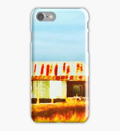 The Old Shearing Shed 1 iPhone Case/Skin