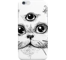 Kitty Jenkins Cosmic Cat iPhone Case/Skin