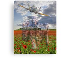 "We Remember The ""Few"" 75 Years Ago Canvas Print"